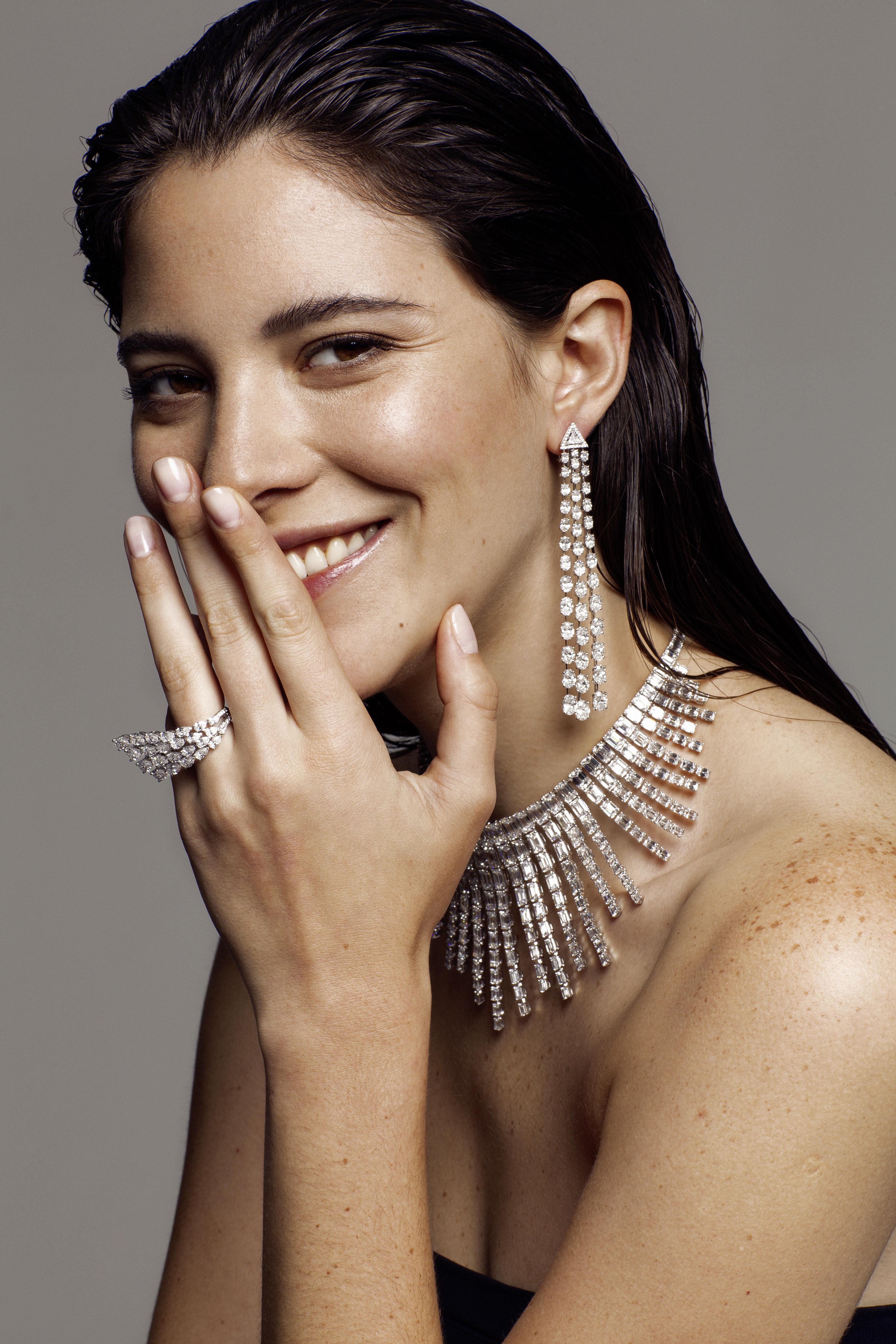 grazia magazine luxury jewellery shoot