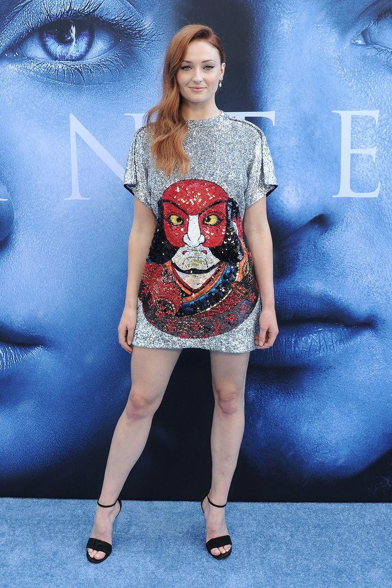 Sophie Turner, GoT Premiere