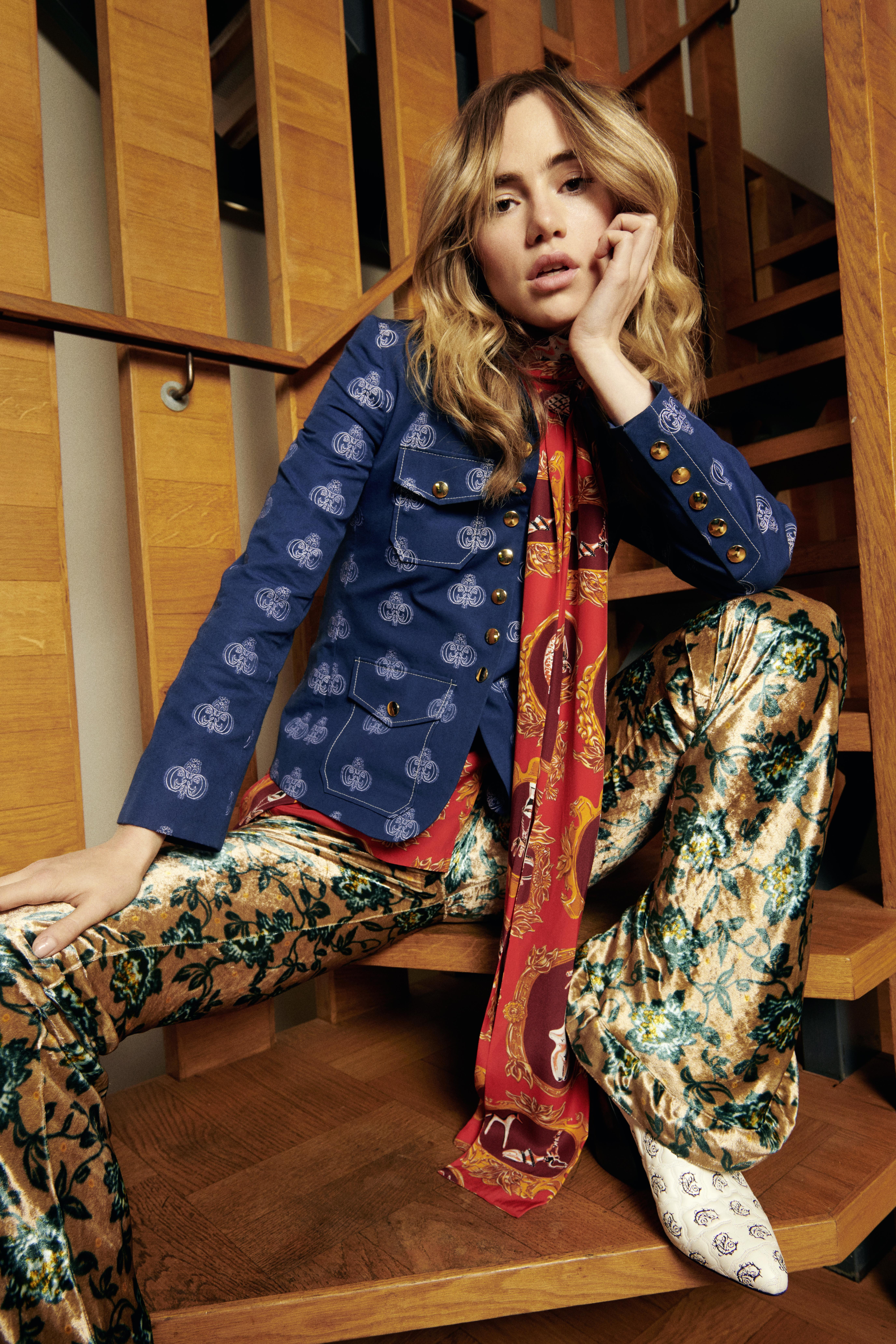 grazia magazine Suki Waterhouse Fashion Shoot Ferragamo